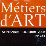 vignette-magazines-metiers-d-art-n°241-septembre-octobre-2008