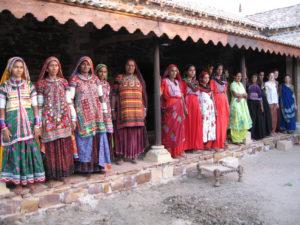 brodeuses de l association Kala Raksha gujarat inde