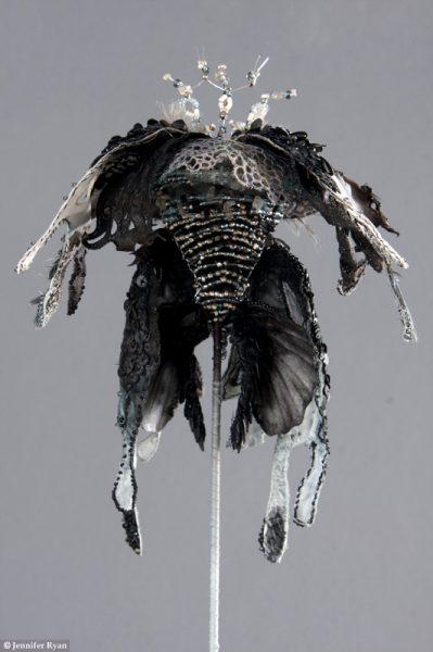 Orchidée Noire, dos