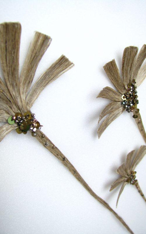 fleur de lin n°1 detail